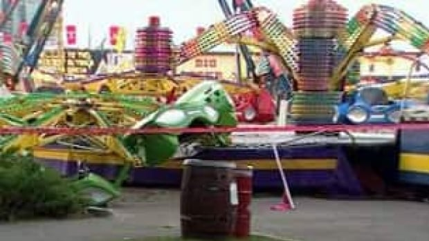 Midway Company Probed For Previous Ride Mishap Cbc News