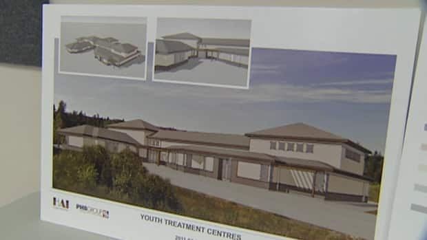 Health officials plan to build a treatment centre for youth on the site of the now-closed Paradise Elementary school.