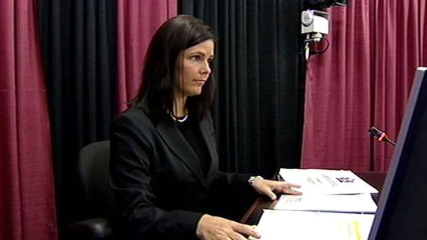 Elizabeth Matthews, seen in 2008, has withdrawn from consideration as vice-chair of the Canada-Newfoundland and Labrador Offshore Petroleum Board.