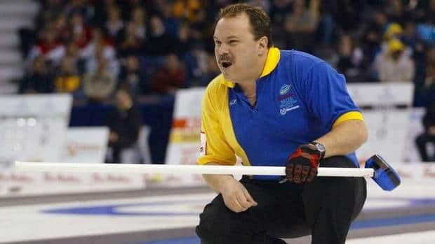 Edmonton's Randy Ferbey won his fourth Brier title in 2005, the last time the tournament was held in his home city.