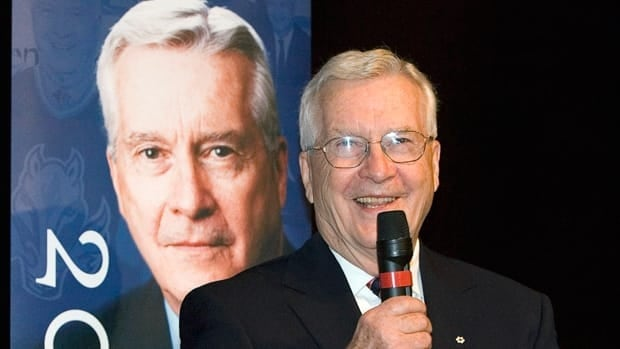 Former Flames owner Harley Hotchkiss and Calgary philanthropist was inducted into the Hockey Hall of Fame in 2006.