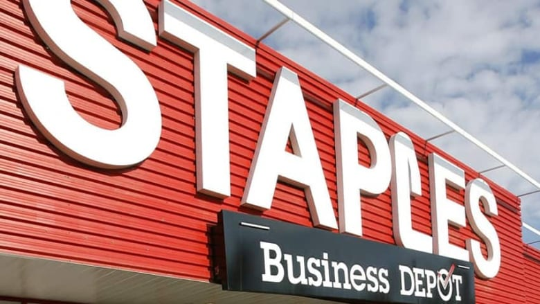 Staples closes 15 canadian stores cbc news staples has closed 15 canadian stores as part of a restructuring of its retail arm as more business moves online canadian press reheart Images