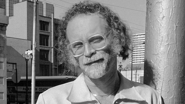 "Edmonton author W.P. Kinsella, seen here in October 1986, penned ""Shoeless Joe"" 30 years ago. It was later adapted into the 1989 film ""Field of Dreams,"" starring Kevin Costner."