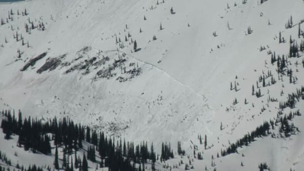 Police said a 30-year-old Calgary man died in the avalanche and a 40-year-old man from Winnipeg was taken to hospital with serious, but non-life threatening injuries.