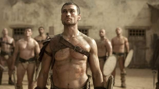 Andy Whitfield portrays Spartacus in the Starz series Spartacus: Blood and Sand. He died at age 39.