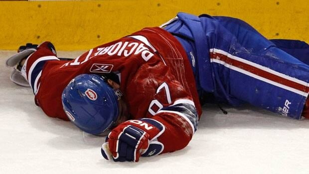 Montreal Canadiens forward Max Pacioretty was injured Tuesday night in a game against Boston. The Canadiens confirmed Wedneday he has a severe concussion and a broken vertebra.