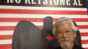 Canadian enviornmentalist David Suzuki was in Washington, D.C., on Friday as part of a Canadian delegation urging President Barack Obama to reject the Keystone XL pipeline proposal.