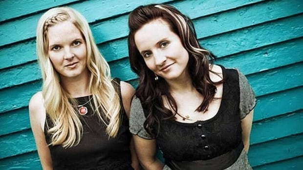 Folk duo Ennis is up for six trophies at the 2013 MusicNL Awards, including best album and group of the year.