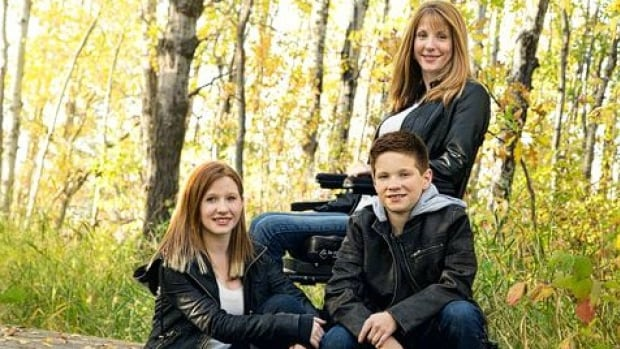 Cherise Griffin and her children. She was six months pregnant with her son at the time of the accident.