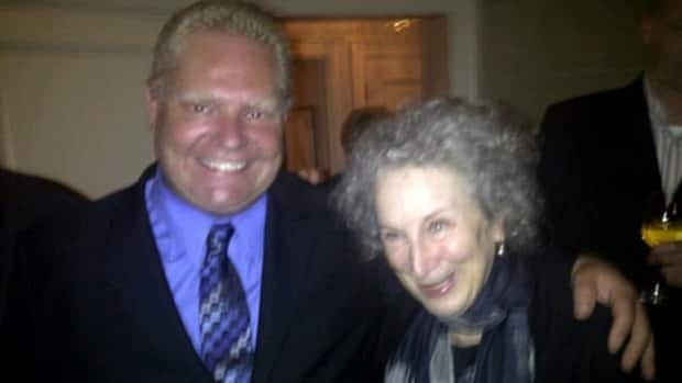 Toronto city councillor Doug Ford, who was mocked for saying he wouldn't be able to recognize celebrated Canadian author Margaret Atwood, finally met the writer on Tuesday. Atwood and Ford had been embroiled in a summer feud about potential library cuts.