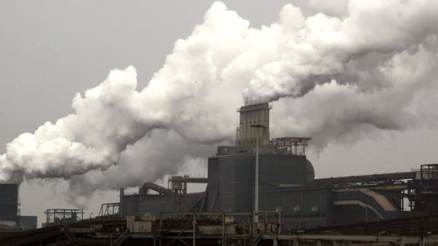 Europe has instituted a cap-and-trade program in a bid to cut emissions by heavy industry, such as this steel plant in the Netherlands.