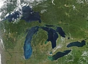 Chemical Threats To The Great Lakes Canada CBC News - Map of the us including the great lakes