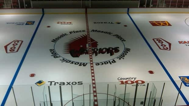 Moose Jaw's sports and recreation complex, Mosaic Place.