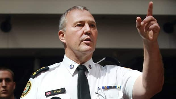 Toronto Police Chief Bill Blair has balked at demands from the mayor to cut 10 per cent from the force's operating budget. The chief instead presented a plan last week that would raise the budget by 1.5 per cent.