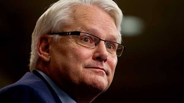 Gordon Campbell's office in London did not return calls about his absence from Tuesday's Order of B.C. ceremony.
