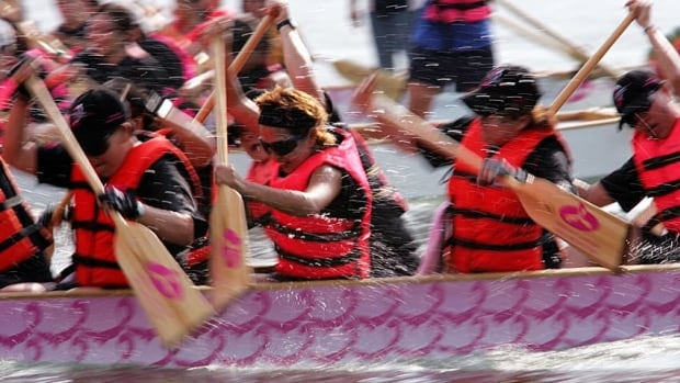 Dragon boating is a popular activity in Vancouver's False Creek, but E. coli levels are raising concerns.