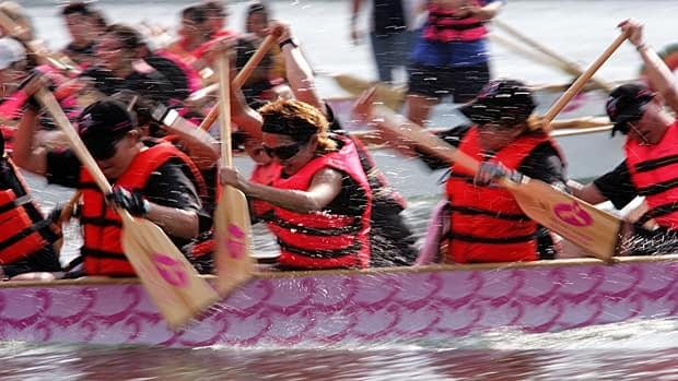Dragon boat racers raise funds for breast cancer research but can the exercise also help prevent the disease?