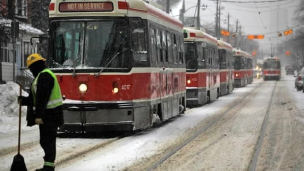 Toronto's transit system continues to struggle under the strain of rising ridership.