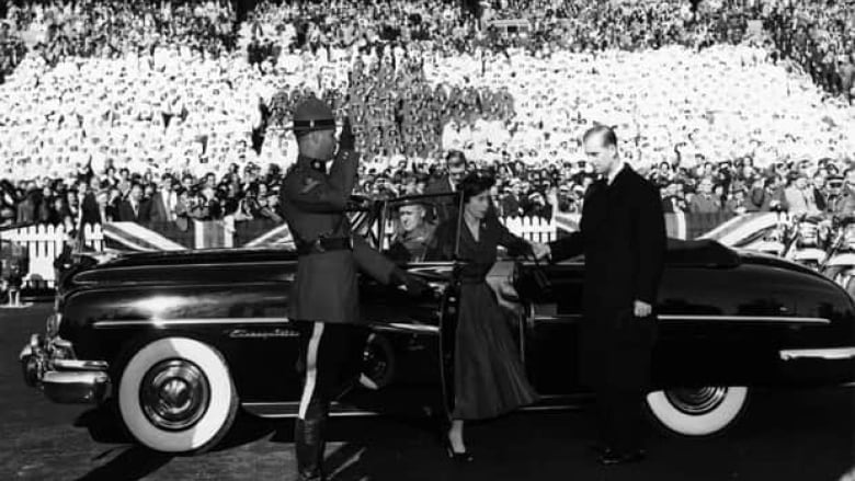 princess elizabeth s 1951 royal visit to canada cbc news