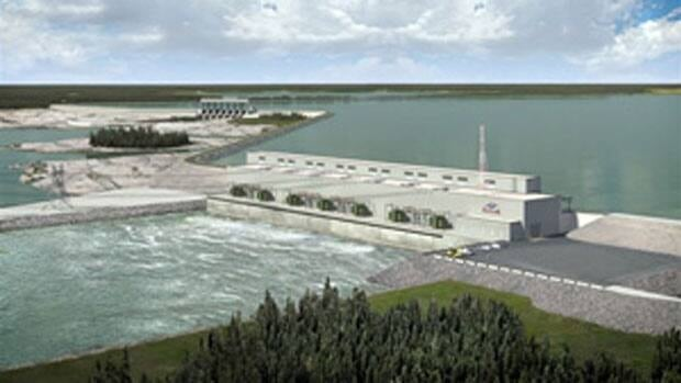 The Keeyask generating station will generate another 695 megawatts from the Nelson River, which already produces almost 4,000 megawatts.