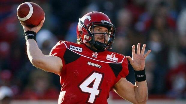Calgary Stampeders qaurterback Drew Tate took over the starting quarterback job from Henry Burris late last season and led the Stampeders to wins in their last three games.