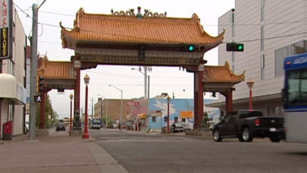 Some people in the Chinese community would like Chinatown Gate to move just north of Jasper Avenue.