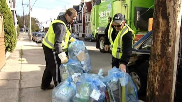 A city-wide recycling program was launched in St. John's in October 2010, but it doesn't include glass or organic waste.