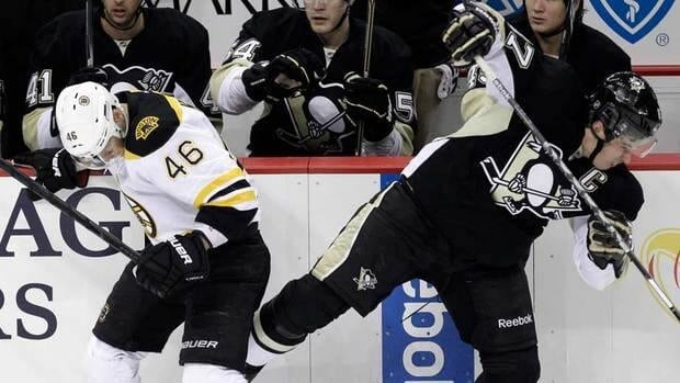 A concussion test showed Sidney Crosby, right, showed no problems from a hit in his last game, but the Penguins decided to rest their captain as a precaution.
