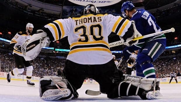 Tim Thomas has been the best goalie in the final, but he'll have to win in Vancouver for the Bruins to hoist the Stanley Cup.