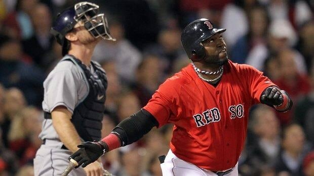 David Ortiz, right, is the second straight Red Sox player to win the Roberto Clemente Award.