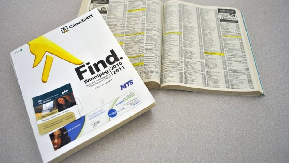 White Pages delivery dropped | CBC News