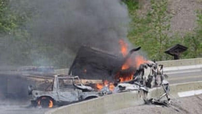 U S  family of 4 die in B C  crash | CBC News