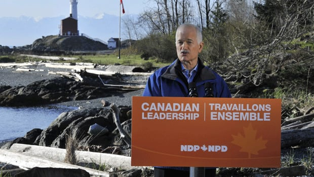 NDP Leader Jack Layton says the NDP would ensure all new military missions are subject to review and approval by Parliament.