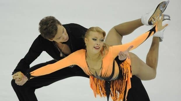 Russian ice dances Ekaterina Bobrova, front, and partner Dmitri Soloviev won the Cup of China title with a flawless free dance on Saturday.