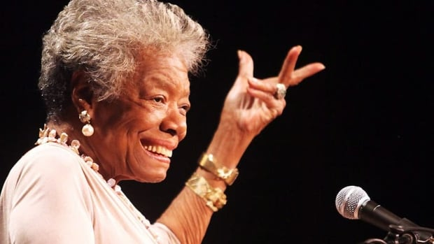 The first home of the late poet Maya Angelou is up for sale in St. Louis, Mo.
