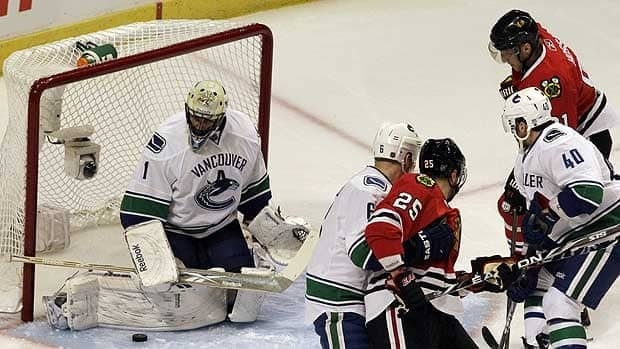 Vancouver goalie Roberto Luongo posted a 38-15-7 record in 60 appearances this past season.