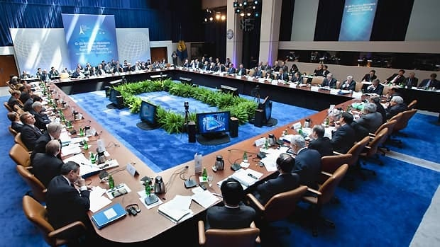 Faq international monetary fund world cbc news g20 finance ministers and bank governors meet april 15 2011 at the imf headquarters in sciox Images