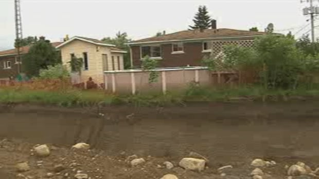 Guylaine Joannette's house sits just metres from the construction of Highway 30.