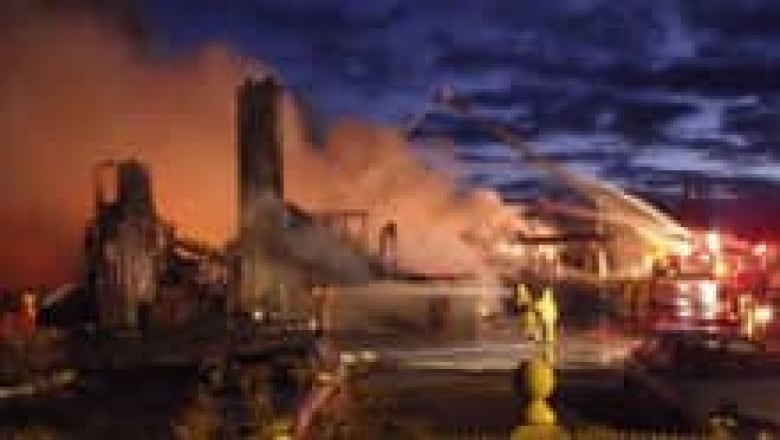 A Fire Saturday Destroyed The Main Building Of The