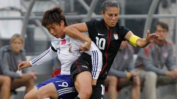 Japan has never defeated the United States in 22 international matches.