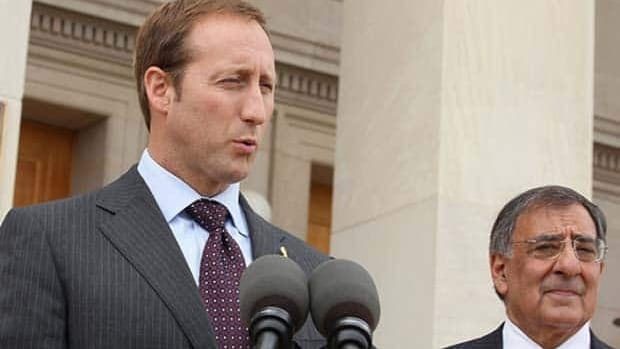 Defence Minister Peter MacKay, left, and U.S. Defence Secretary Leon Panetta applauded the death of al-Qaeda operative Anwar al-Awlaki during a news conference at the Pentagon on Friday.