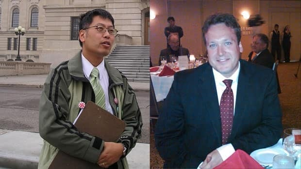 Green Party leader Victor Lau (left) will not be participating in the televised debate on Oct. 25. Neither will Liberal Leader Ryan Bater, whose party was represented in the 2007 debate.