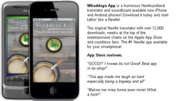 Whaddaya App was developed by a St. John's company.