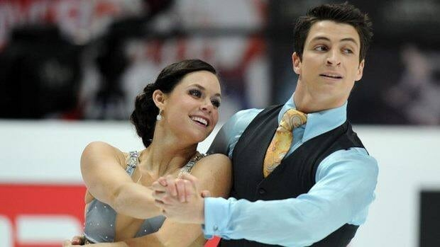 Canadian ice dancers Tessa Virtue, left. and Scott Moir will make their season debut at Skate Canada.