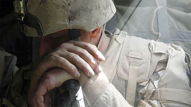 Troubling events in the battlefield can sometimes trigger post-traumatic stress disorder for soldiers.
