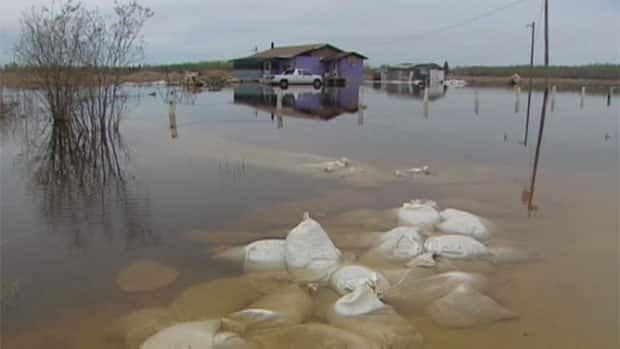 Floodwaters swamped Lake St. Martin First Nation in the spring and continue to plague the reserve, forcing many of its residents to stay in Winnipeg hotels.
