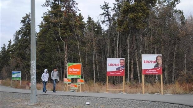 A large percentage of Yukoners still aren't 100 per cent sure who they'll vote for.