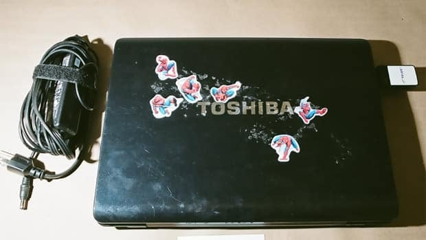 This Toshiba laptop computer was seized from Mark Twitchell's vehicle.
