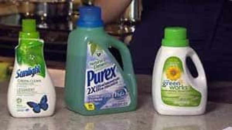 Some 'green' detergents contain petrochemicals | CBC News