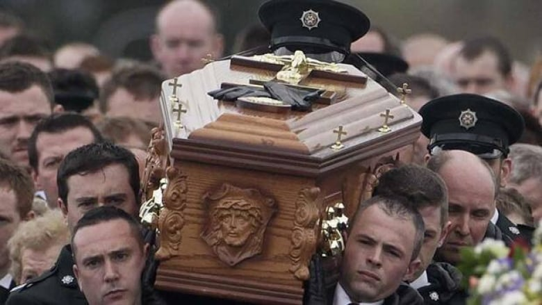 ira dissident nabbed on day of police funeral cbc news